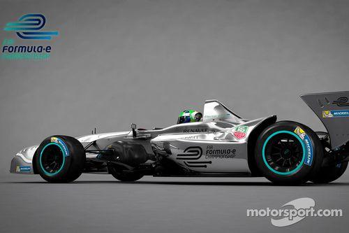 فورمولا اي: إطلاق السيارة الجديدة