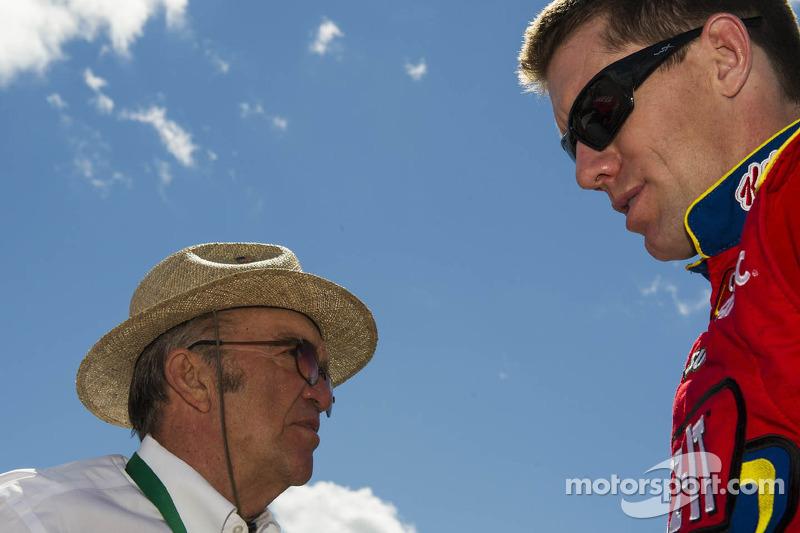 Carl Edwards en Jack Roush