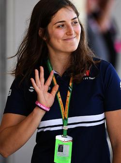Тест-пилот Sauber Татьяна Кальдерон