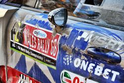 The car of Ott Tänak, Martin Järveoja, Ford Fiesta WRC, M-Sport