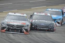 Кори Лажуа, BK Racing Toyota, Дэвид Рейган, Front Row Motorsports Ford и Грей Голдинг, BK Racing Toyota