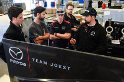 Pruebas Mazda Team Joest en Daytona