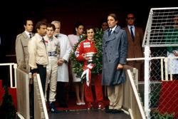 Подіум: переможець Ален Прост, McLaren, Айртон Сенна, Toleman