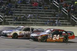 Dylan Lupton, JGL Racing Toyota and J.J. Yeley, TriStar Motorsports Toyota