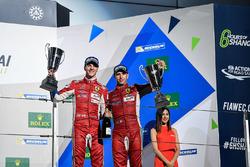 Podium GTE Pro: third place James Calado, Alessandro Pier Guidi, AF Corse