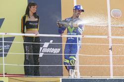 Podium : Marco Melandri, vainqueur