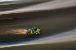 Crash: Grant Enfinger, ThorSport Racing Toyota