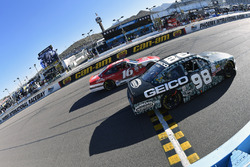 Casey Mears, Biagi-DenBeste Racing Ford y Ryan Reed, Roush Fenway Racing Ford
