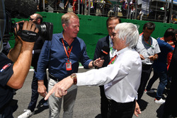 Martin Brundle, Sky TV and Bernie Ecclestone