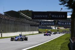 Marcus Ericsson, Sauber C36, Brendon Hartley, Scuderia Toro Rosso STR12