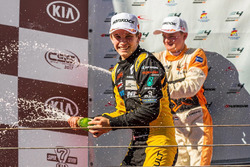 Podium: race winnaar Christian Lundgaard, MP Motorsport