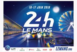 2018 Le Mans 24 Saat posteri