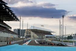 Romain Grosjean, Haas F1 Team VF-17, Stoffel Vandoorne, McLaren MCL32, Pierre Gasly, Scuderia Toro Rosso STR12, Pascal Wehrlein, Sauber C36