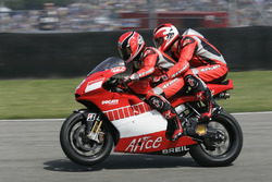 Randy Mamola, Michael Schumacher, Ducati Team Double seater