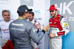 Felix Rosenqvist, Mahindra Racing, Nelson Piquet Jr., Jaguar Racing, Sam Bird, DS Virgin Racing, Daniel Abt, Audi Sport ABT Schaeffler