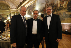 Chase Carey, Formula One Chairman, Ross Brawn, Formula One Managing Director of Motorsports