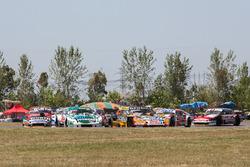 Carlos Okulovich, Maquin Parts Racing Torino, Juan Martin Trucco, JMT Motorsport Dodge, Facundo Ardusso, Renault Sport Torino, Matias Rossi, Nova Racing Ford