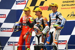 Podio: Jorge Lorenzo, Andrea Dovizioso and Alex De Angelis