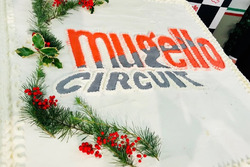 Logo dell'Autodromo su una torta