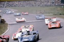 Start zum Can-Am-Rennen in Watkins Glen 1969