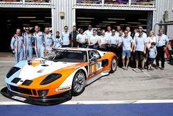 #8 Lambda Performance Ford GT Lambda: Nico Verdonck, Frank Kechele, Csaba Walter, Daniel Keilwitz