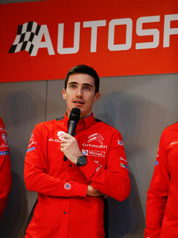 Citroen WRC driver Craig Breen on the Autosport Stage