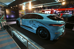The Jaguar iPace eTrophy car