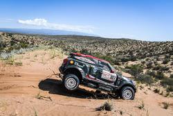 Орландо Терранова и Бернардо Грауэ, X-Raid Team, MINI John Cooper Works Rally (№307)