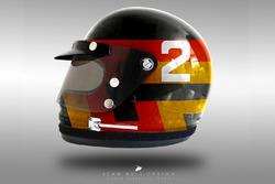 Concepto de cascos 1970