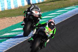 Tom Sykes, Kawasaki Racing, Leon Haslam, Kawasaki
