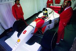 Айртон Сенна, McLaren MP4/8 Ford