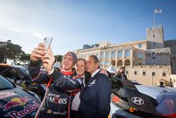 Thierry Neuville, Hyundai Motorsport, Jean Ragnotti, Jacky Ickx