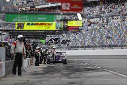 #71 P1 Motorsports Mercedes AMG GT3, GTD: Kenton Koch, Robert Foley III, Juan Perez, Loris Spinelli, pit stop