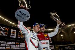 René Rast and Timo Bernhard on the podium