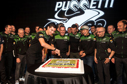Toprak Razgatlioglu, Hikari Okubo, Manuel Puccetti, Kenan Sofuoglu, Kawasaki Puccetti Racing