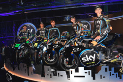 Launching Sky Racing Team VR46 2018