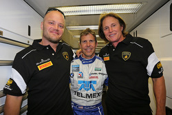 Bruce Jenner, Burt Jenner and Scott Pruett