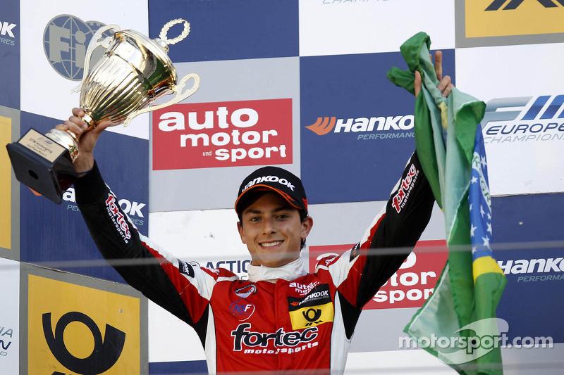 2e plaats Luis Derani
