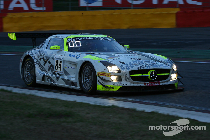 #84 HTP Motorsport Mercedes SLS AMG GT3: Bernd Schneider, Maximilian Buhk, Maximilian Götz