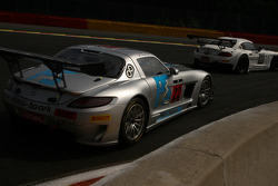 #22 Preci-Spark Mercedes SLS AMG GT3: David Jones, Godfrey Jones, Gareth Jones, Philip Jones
