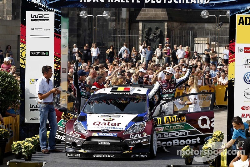 Thierry Neuville, Nicolas Gilsoul, Ford Fiesta WRC #11, Qatar World Rally Team