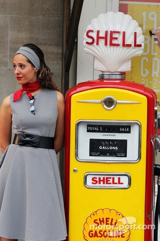 Volte no tempo com a Shell