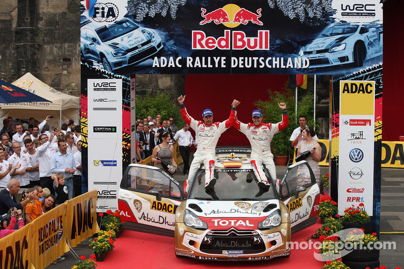 Dani Sordo, Carlos del Barrio, Citroen DS3 WRC #3, Citro_én Total Abu Dhabi World Rally Team