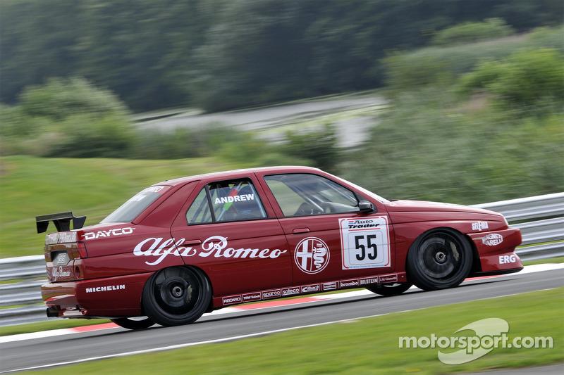 Alfa Romeo 156 Btcc Super Touring Car: Tom Andrew, Alfa Romeo 155 At HSCC Super Touring: Oulton