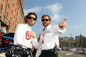 Dario Franchitti, Target Chip Ganassi Racing Honda and Beaux Barfield