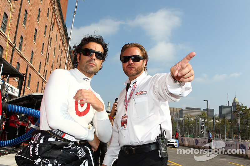 Dario Franchitti, Target Chip Ganassi Racing Honda en Beaux Barfield