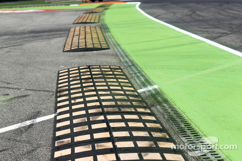 Speed bumps on the circuit