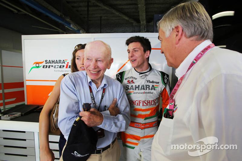 James Calado, Sahara Force India Third Driver with John Surtees