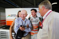 James Calado, Derde rijder Sahara Force India met John Surtees