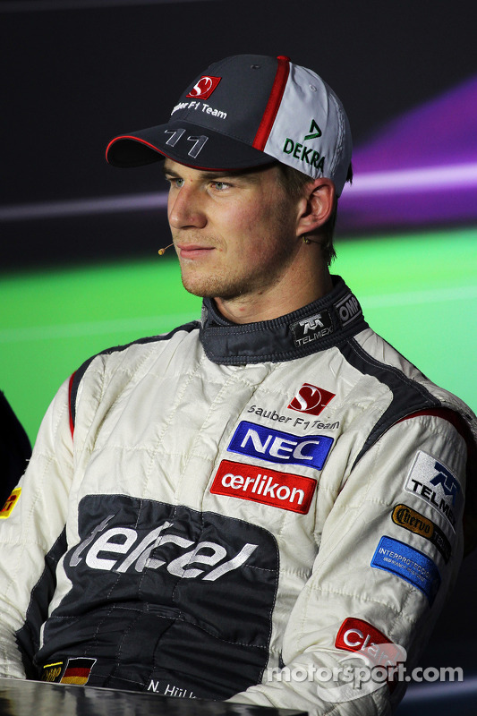 Nico Hulkenberg, Sauber na coletiva da FIA
